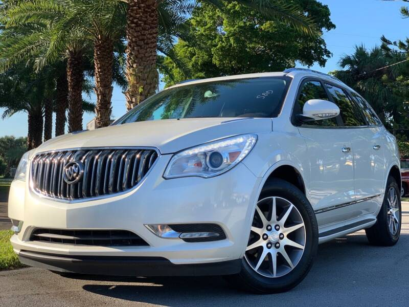 2016 Buick Enclave for sale at HIGH PERFORMANCE MOTORS in Hollywood FL