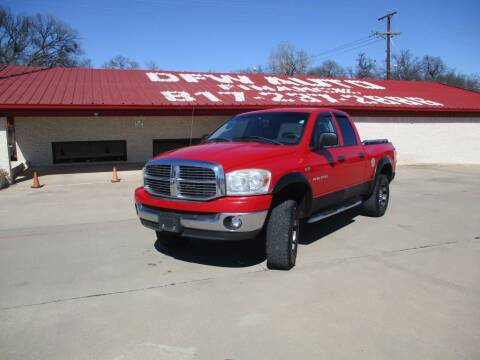 2007 Dodge Ram Pickup 1500 for sale at DFW Auto Leader in Lake Worth TX