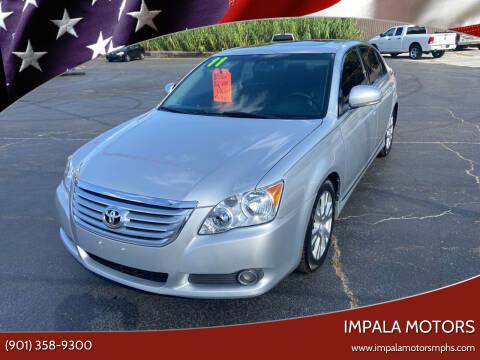 2011 Toyota Avalon for sale at IMPALA MOTORS in Memphis TN