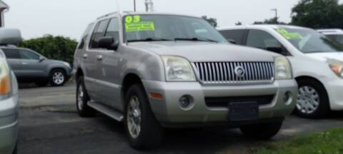 2003 Mercury Mountaineer for sale at ABC Auto Sales and Service in New Castle DE