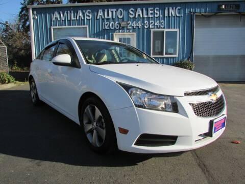 2011 Chevrolet Cruze for sale at Avilas Auto Sales Inc in Burien WA