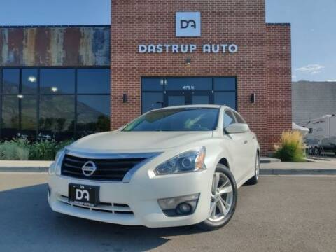 2015 Nissan Altima for sale at Dastrup Auto in Lindon UT