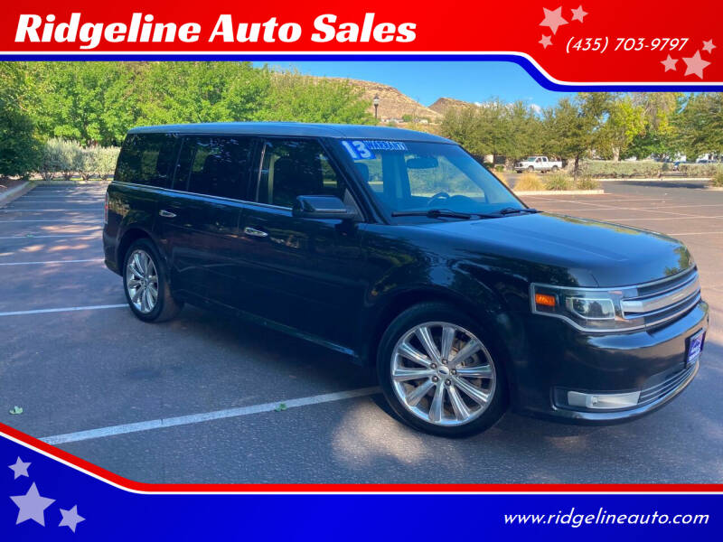 2013 Ford Flex for sale at Ridgeline Auto Sales in Saint George UT