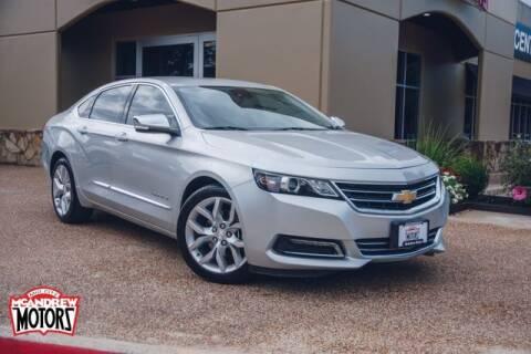 2017 Chevrolet Impala for sale at Mcandrew Motors in Arlington TX