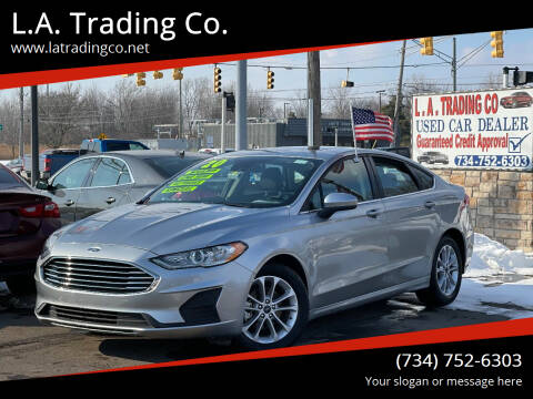 2020 Ford Fusion for sale at L.A. Trading Co. in Woodhaven MI