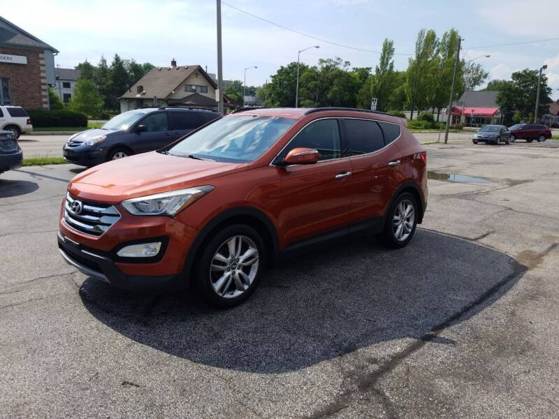 2013 Hyundai Santa Fe Sport for sale at Indiana Auto Sales Inc in Bloomington IN