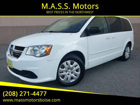 2015 Dodge Grand Caravan for sale at M.A.S.S. Motors in Boise ID