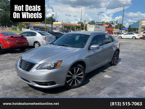 2013 Chrysler 200 for sale at Hot Deals On Wheels in Tampa FL