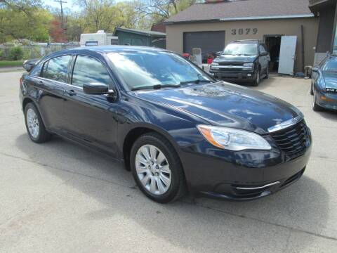 2014 Chrysler 200 for sale at Jims Auto Sales in Muskegon MI
