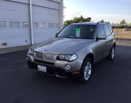 2007 BMW X3 for sale at My Three Sons Auto Sales in Sacramento CA