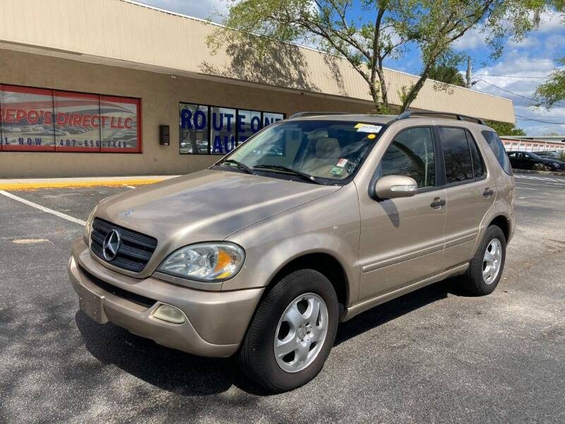 2003 Mercedes-Benz M-Class for sale at Top Garage Commercial LLC in Ocoee FL