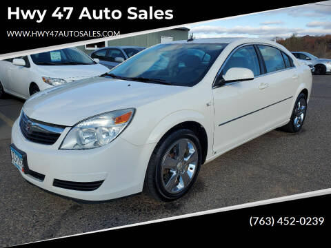 2008 Saturn Aura for sale at Hwy 47 Auto Sales in Saint Francis MN