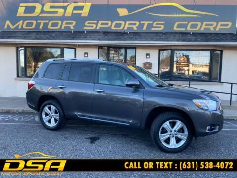 2010 Toyota Highlander for sale at DSA Motor Sports Corp in Commack NY