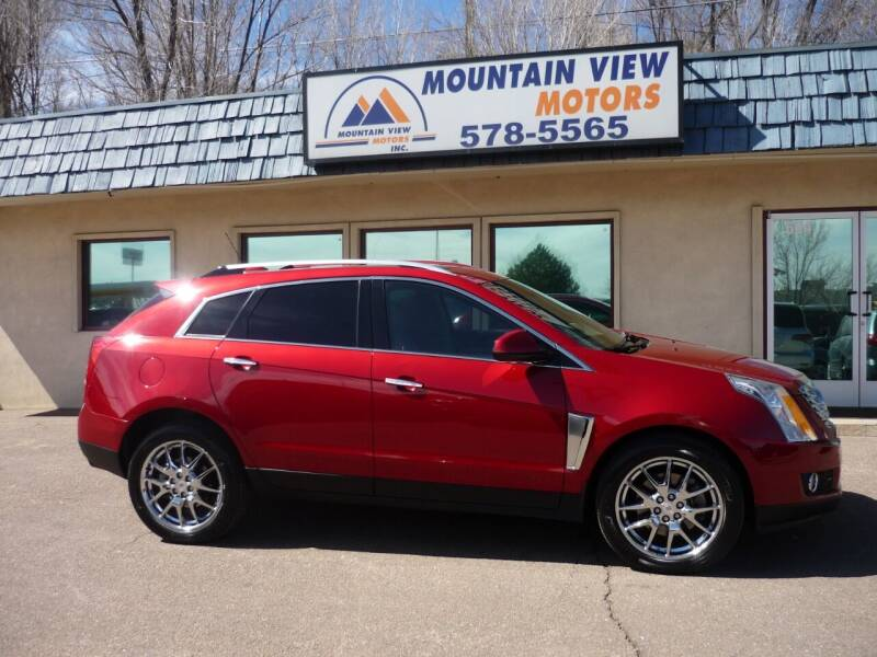 2015 Cadillac SRX for sale at Mountain View Motors Inc in Colorado Springs CO