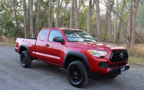 2020 Toyota Tacoma for sale at Northwest Premier Auto Sales in West Richland WA
