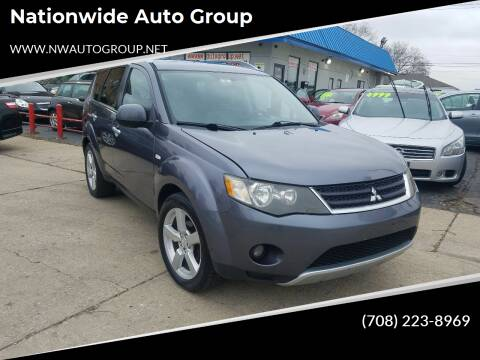 2007 Mitsubishi Outlander for sale at Nationwide Auto Group in Melrose Park IL