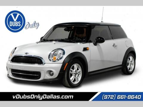 2013 MINI Hardtop for sale at VDUBS ONLY in Dallas TX