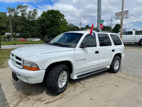 2001 Dodge Durango for sale at Jerry & Menos Auto Sales in Belton MO