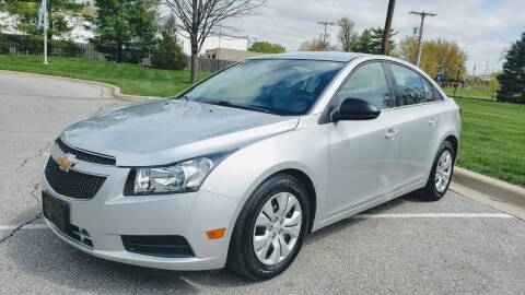 2012 Chevrolet Cruze for sale at Nationwide Auto in Merriam KS