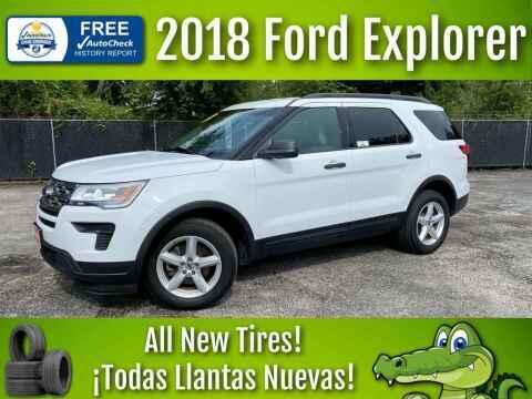 2018 Ford Explorer for sale at LIQUIDATORS in Houston TX