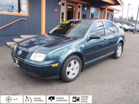 2002 Volkswagen Jetta for sale at Sabeti Motors in Tacoma WA