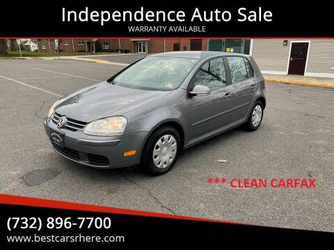 2007 Volkswagen Rabbit for sale at Independence Auto Sale in Bordentown NJ