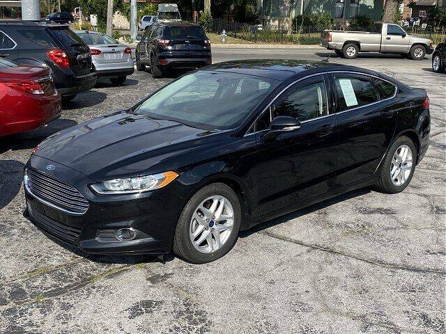 2015 Ford Fusion for sale at Sunshine Auto Sales in Huntington IN