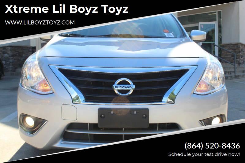 2019 Nissan Versa for sale at Xtreme Lil Boyz Toyz in Greenville SC