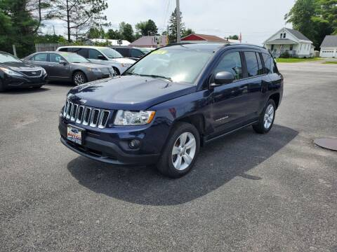 2013 Jeep Compass for sale at Excellent Autos in Amsterdam NY