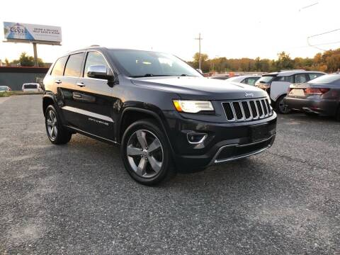 2015 Jeep Grand Cherokee for sale at Mass Motors LLC in Worcester MA