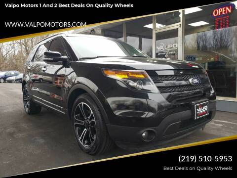 2014 Ford Explorer Sport for sale at Valpo Motors 1 and 2  Best Deals On Quality Wheels in Valparaiso IN