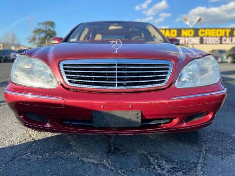 2002 Mercedes-Benz S-Class for sale at Global Auto Group in Fontana CA