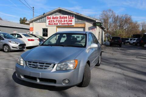 2004 Kia Spectra for sale at SAI Auto Sales - Used Cars in Johnson City TN
