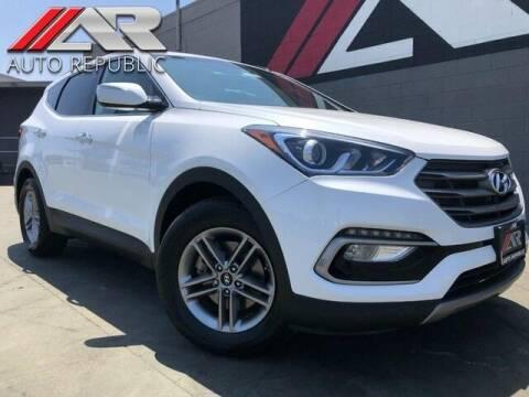 2018 Hyundai Santa Fe Sport for sale at Auto Republic Fullerton in Fullerton CA