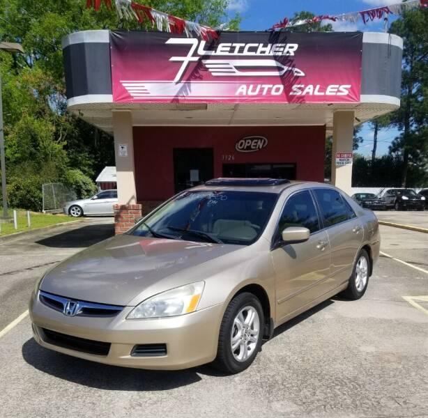 2006 Honda Accord for sale at Fletcher Auto Sales in Augusta GA