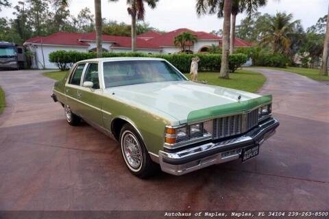 1979 Pontiac Bonneville for sale at Autohaus of Naples Inc. in Naples FL