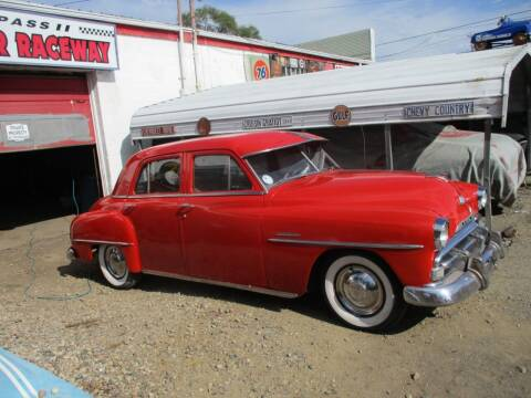 1951 Chrysler Windsor for sale at Marshall Motors Classics in Jackson MI