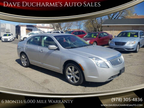2011 Mercury Milan for sale at Dave Ducharme's Auto Sales in Lowell MA
