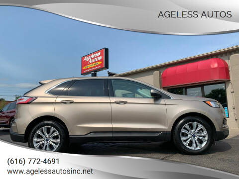 2020 Ford Edge for sale at Ageless Autos in Zeeland MI