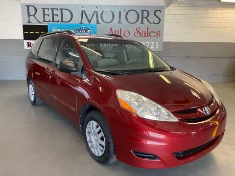 2007 Toyota Sienna for sale at REED MOTORS LLC in Phoenix AZ