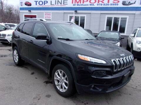 2015 Jeep Cherokee for sale at Top Line Import in Haverhill MA