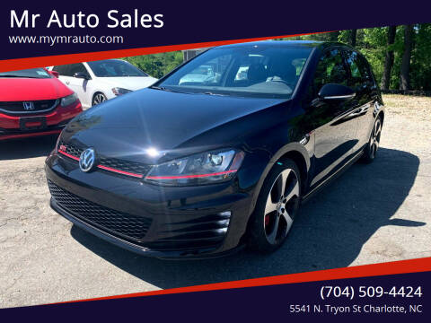2017 Volkswagen Golf GTI for sale at Mr Auto Sales in Charlotte NC
