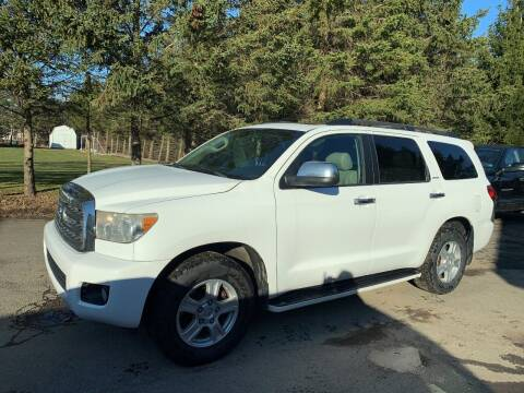 2008 Toyota Sequoia for sale at SMS Motorsports LLC in Cortland NY