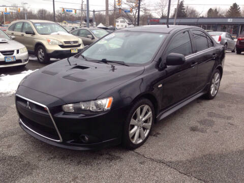 2013 Mitsubishi Lancer for sale at MR Auto Sales Inc. in Eastlake OH