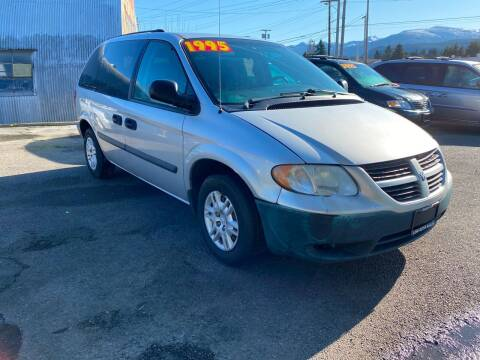 2005 Dodge Caravan for sale at Low Auto Sales in Sedro Woolley WA