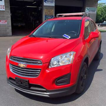 2016 Chevrolet Trax for sale at Downeast Auto Inc in South Waterboro ME