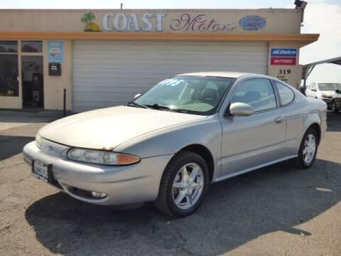 2000 Oldsmobile Alero for sale at Coast Motors in Arroyo Grande CA
