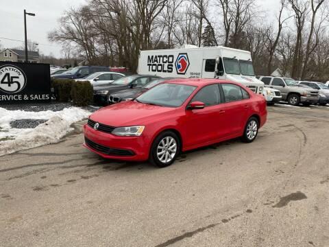 2012 Volkswagen Jetta for sale at Station 45 Auto Sales Inc in Allendale MI
