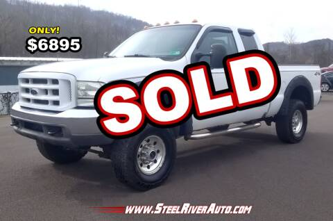 2003 Ford F-350 Super Duty for sale at Steel River Auto in Bridgeport OH