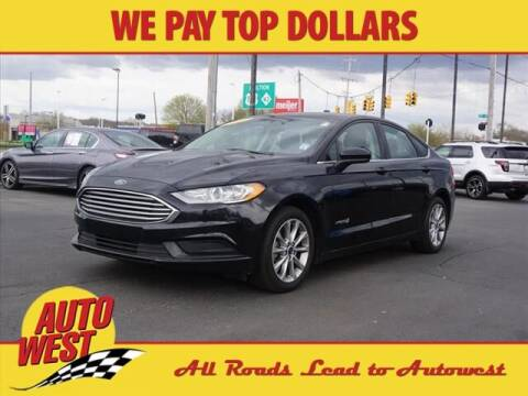 2017 Ford Fusion Hybrid for sale at Autowest Allegan in Allegan MI